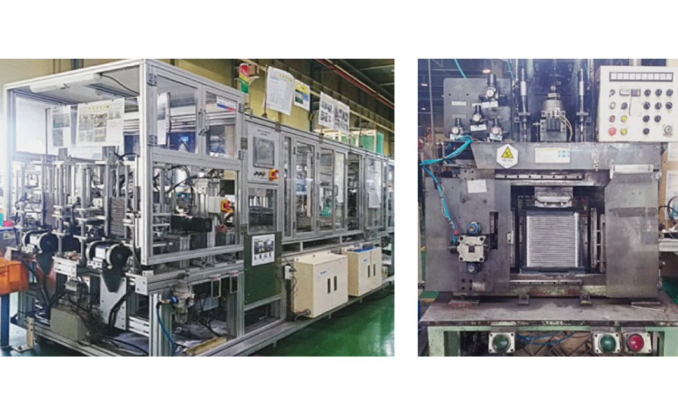 Evaporator Core Assembly Machine