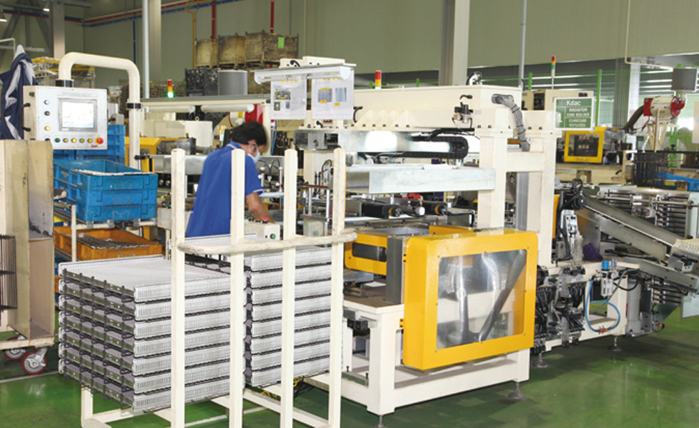 Radiator Core Assembly Machine